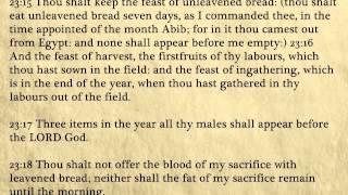 Exodus - King James Bible, Old Testament (Audio Book)
