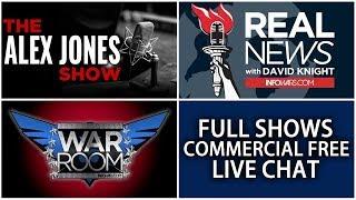 LIVE 📢 Alex Jones Infowars Stream With Today's LIVE Shows • 9AM til 7PM ET • Friday 10/20/17
