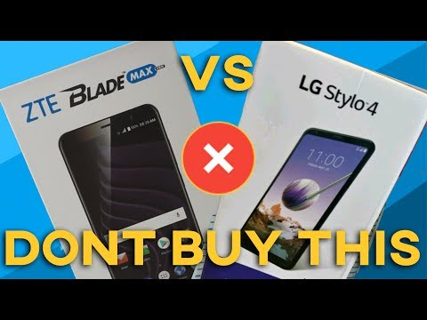 ZTE Blade Max View |Vs| LG STYLO 4 (Which is a better phone?)