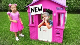 Diana buys a New PlayHouse
