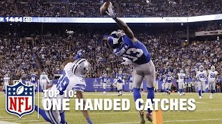 Top 10 One-Handed Catches of All Time   NFL