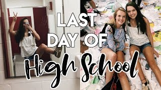 LAST DAY OF HIGH SCHOOL VLOG // senior year day in my life