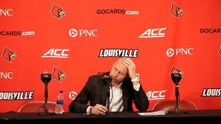 Louisville Basketball - Chris Mack - Bellarmine Post-Game 2019-10-29