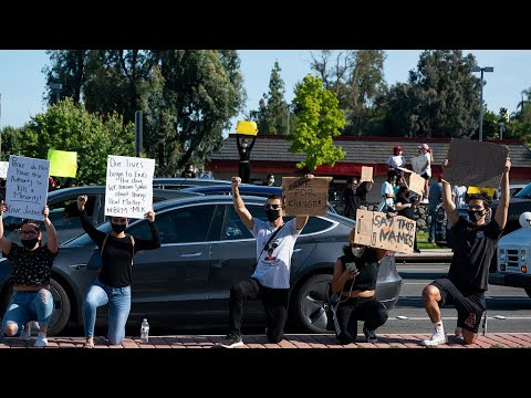 Cities across California have declared curfews