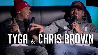 Chris Brown & Tyga Talk Drake Beef, Amber Rant + Kylie!