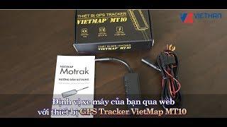 Thiết bị định vị xe máy GPS Tracker VietMap MT10 giám sát hành trình