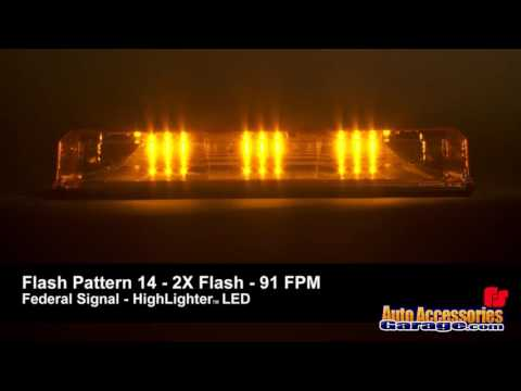 Federal Signal HighLighter LED Light Bar