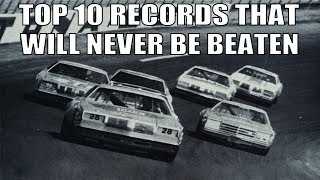 Top 10 NASCAR Records that Will Never be Broken