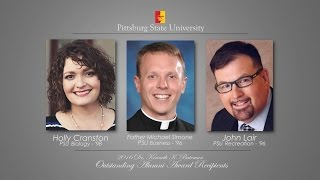 '2016 Outstanding Alumni Award Reception - Pittsburg State University