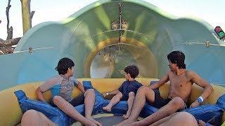 Yas Waterworld in Abu Dhabi (Emirates Music Clip!)