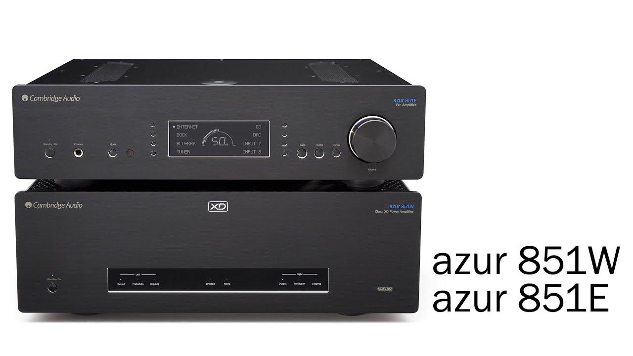 Cambridge Audio Azur 851W Silver