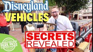 [Secrets Revealed] Main Street Vehicles Disneyland