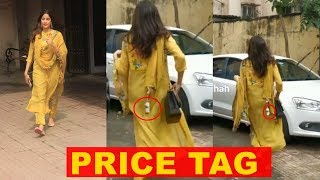 Janhvi Kapoor trolled as she forgets to remove price tag f..