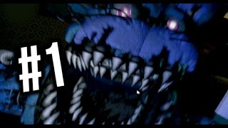 FIVE NIGHTS AT FREDDY'S 4 -- NOT SCARY?... (Night 1, Night 2)