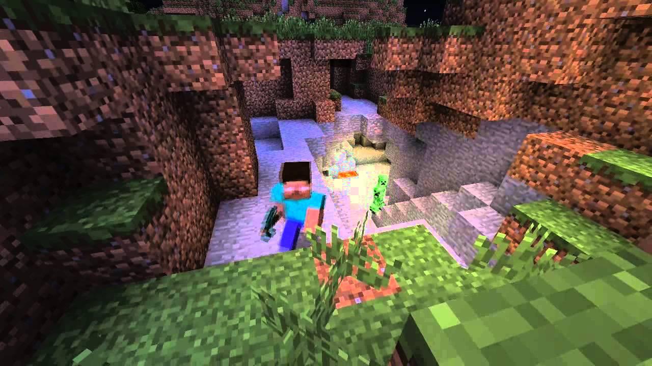 Minecraft Herobrine Vs Slenderman Youtube