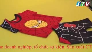 Show chụp hình quần áo trẻ em do Truyền hình trực tuyến Việt Nam - STV thực hiện
