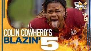 Blazin' 5: Colin Cowherd's picks for the 2020 NFL Wild Card Weekend | NFL | THE HERD