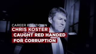 Chris Koster: Caught Red-Handed