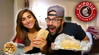 BEST THING AT CHIPOTLE! | CHEAT MEAL SECRET MENU QUESARITO