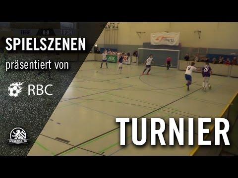 Tennis Borussia Berlin - 1.FC Neubrandenburg (13. Range Bau Cup, U17 B-Junioren, Gruppenphase) - Spielszenen | SPREEKICK.TV