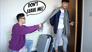 I'M MOVING OUT PRANK ON BOYFRIEND (Gay Couple Edition)