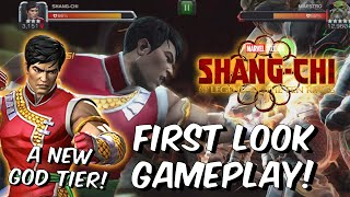 Shang Chi First Look Gameplay - A New God Tier That HITS LIKE A TRUCK! - Marvel Contest of Champions