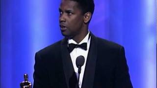 Denzel Washington Wins Supporting Actor: 1990 Oscars