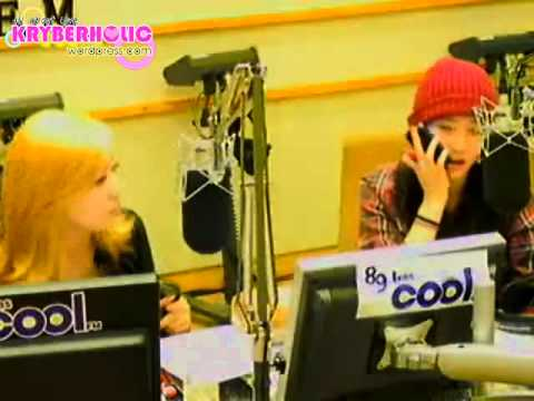 [Kryber Moment] #2 110128 Amber Called Krystal during Sukira