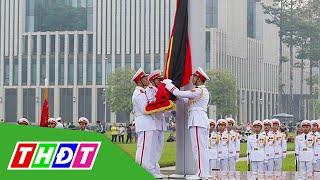 Lễ thượng cờ rủ Quốc tang và lễ viếng nguyên Tổng Bí thư Lê Khả Phiêu | THDT