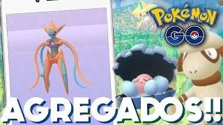 DEOXYS, JIRACHI Y MÁS AGREGADOS AL CODIGO!! | 631 | POKEMON GO