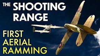 THE SHOOTING RANGE #136: First aerial ramming / War Thunder