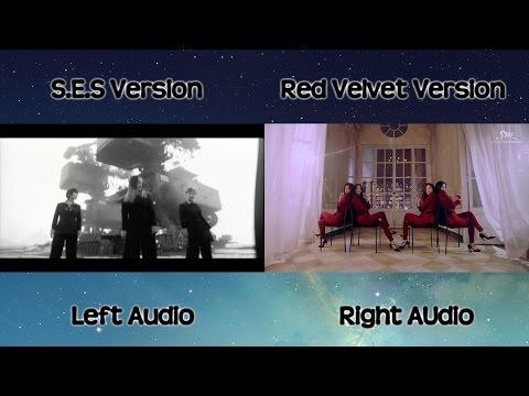 S.E.S & Red Velvet - Be Natural [Comparison]