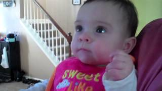 Baby's Iron Maiden Reaction