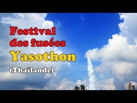 festival des fusées de yasothon