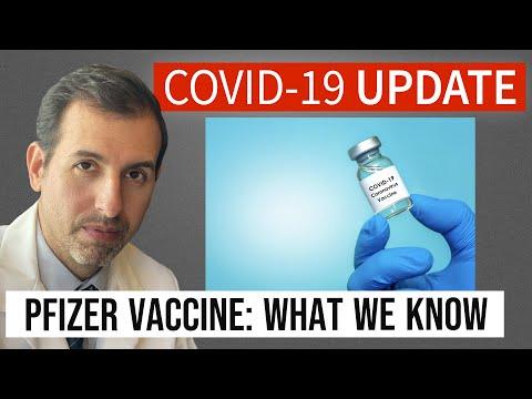 Coronavirus Update 116: Pfizer COVID 19 Vaccine Explained