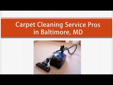 Professional Carpet Cleaning in Baltimore