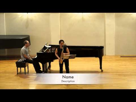 Josip Nochta Competition Yumi Sato Quarter Tone Waltz by Gordan Tudor