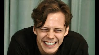 Bill Skarsgård audition and first makeup test for pennywise
