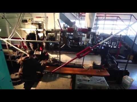 Atlas Rebuilds Century-Old Steamboat Engines