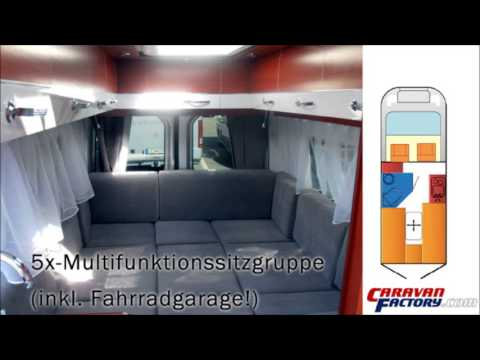 kastenwagen wohnmobil auf mercedes sprinter 316 cdi youtube. Black Bedroom Furniture Sets. Home Design Ideas
