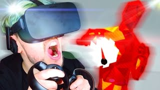 SIT DOWN! | SuperHOT VR #2 (Oculus Rift Virtual Reality)