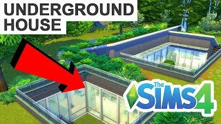 UNDERGROUND HOUSE!  [ The Sims 4 House Building ]