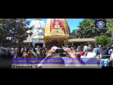 Pictures of Grand Jagannath Rath Yathra - Fremont Hindu Temple, Fremont, CA, USA