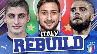 REBUILDING ITALY!!! FIFA 18 Career Mode (WORLD CUP!)