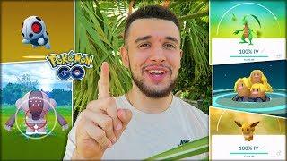 I CAUGHT 10 PERFECT IV POKÉMON IN 10 DAYS! (Pokémon GO)