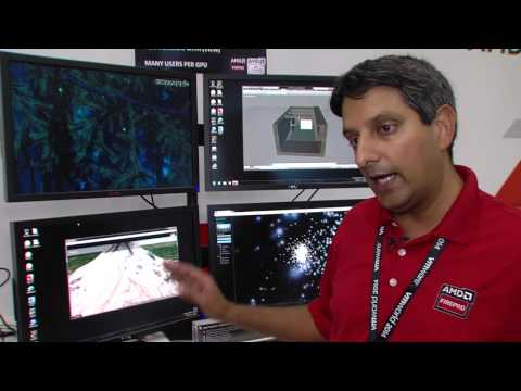 AMD FirePro™ Graphics Demonstrates vSGA at VMWorld 2014