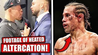 Cody Garbrandt CONFRONTED by Petr Yan backstage, Covington suffered broken jaw, Dana White UFC 245