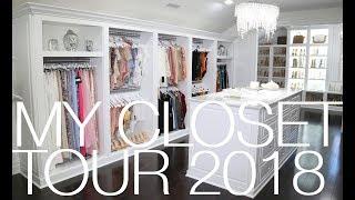 MY CLOSET TOUR 2018! | HOME TOUR SERIES