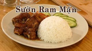 Cách Làm Sườn Ram Mặn Cực Ngon Ăn Với Cơm Siêu Ngon - Món Ăn Ngon - Youtube