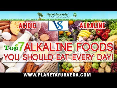 Acidic Vs. Alkaline - Top 7 Alkaline Foods You Should Eat Every day